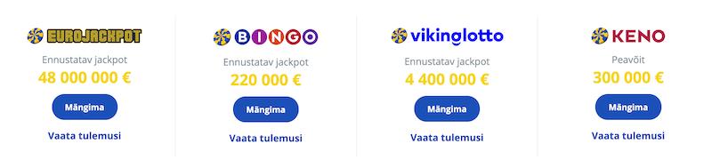 eesti loto bingo loto